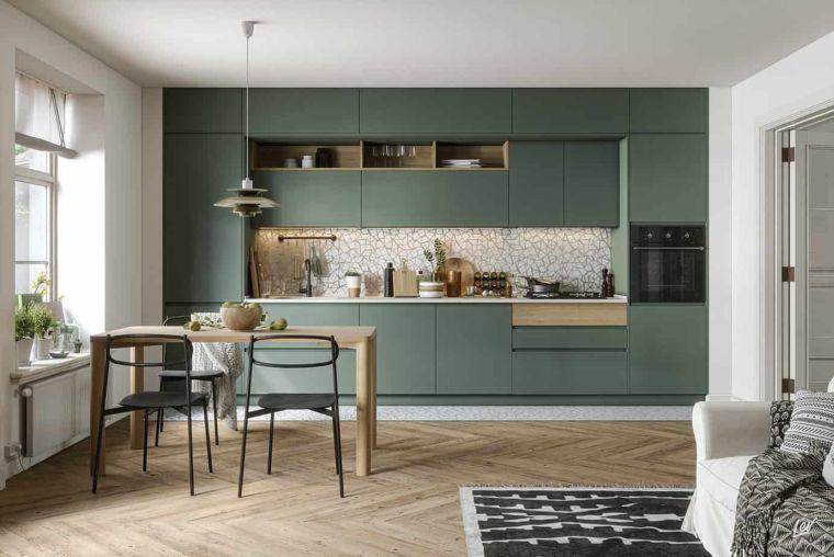 estilos de cocinas minimalistas