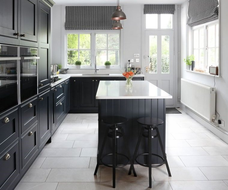 estilos de cocinas muebles