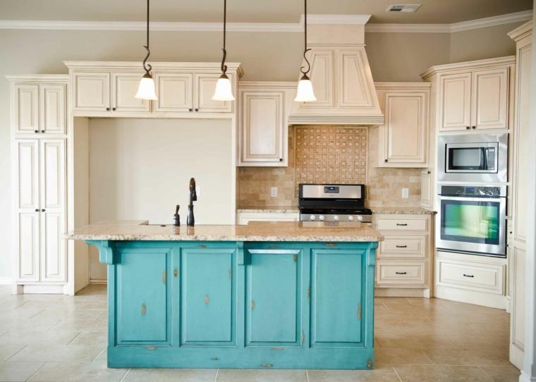 isla-azul-cocina-opciones-estilo