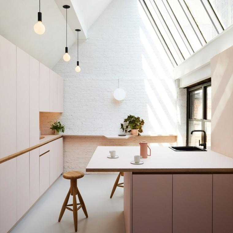 islas-de-cocina-modernas-color-rosa-ideas