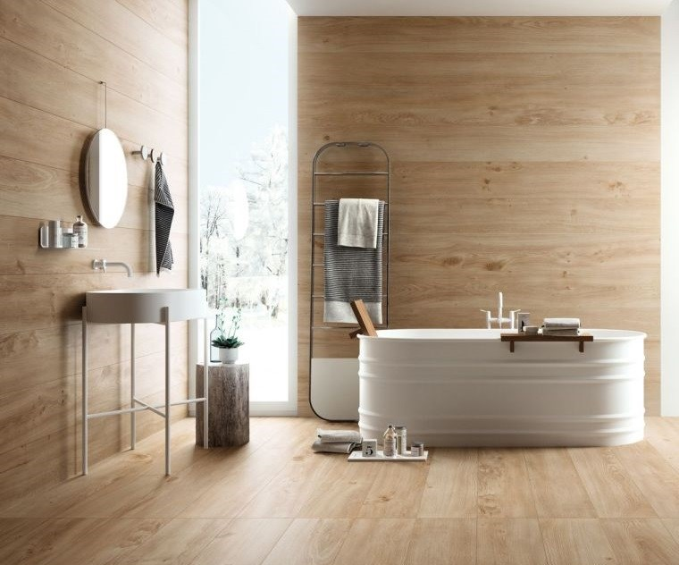 japandi decoracion baño