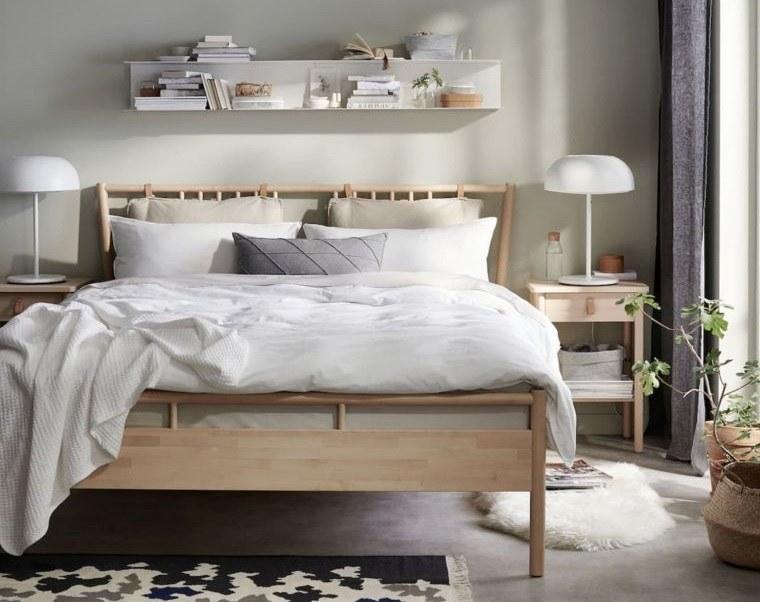 japandi estilo relajado dormitorio
