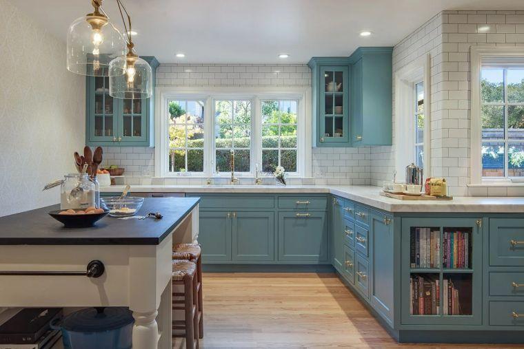 muebles-cocina-ideas-anadir-color