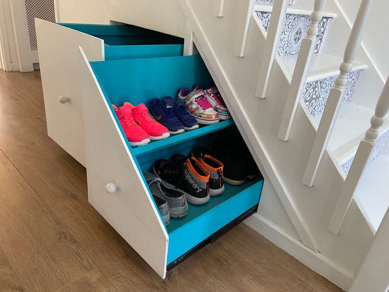 optimizar almacenamiento calzado