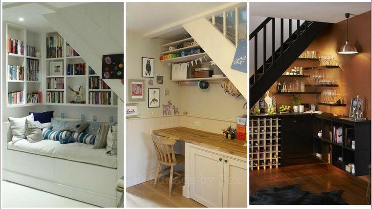 optimizar espacio debajo escaleras