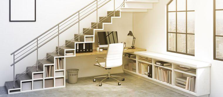 optimizar espacio oficina en casa