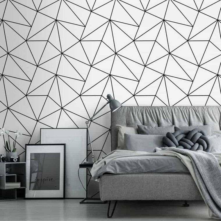 papel tapiz lineas geometricas