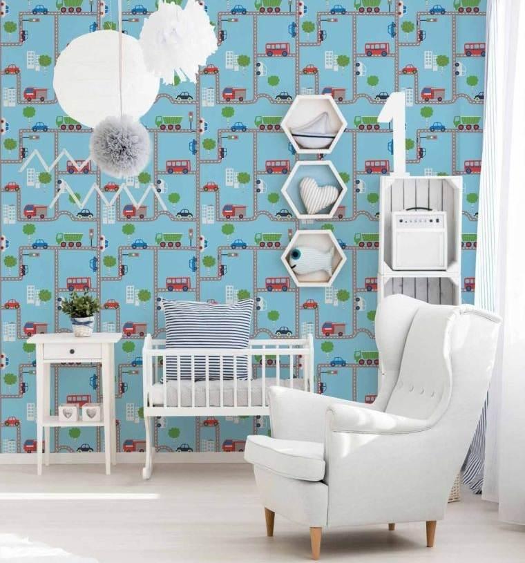 papel tapiz para habitacion bebe