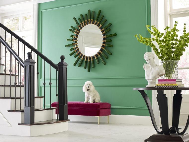 pared-verde-ideas-casa-opciones