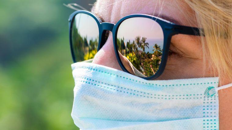 rayos ultravioleta usar mascarilla