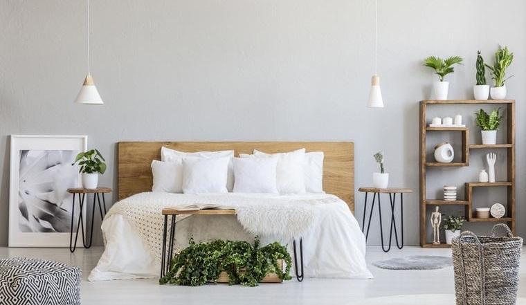 tendencias decoración dormitorios ecologicos