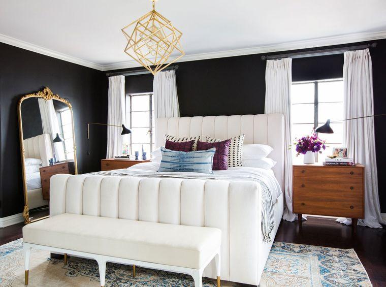 tendencias decoración dormitorios elegantes