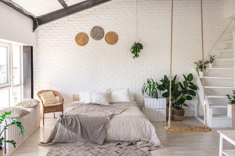 tendencias decoración dormitorios plantas