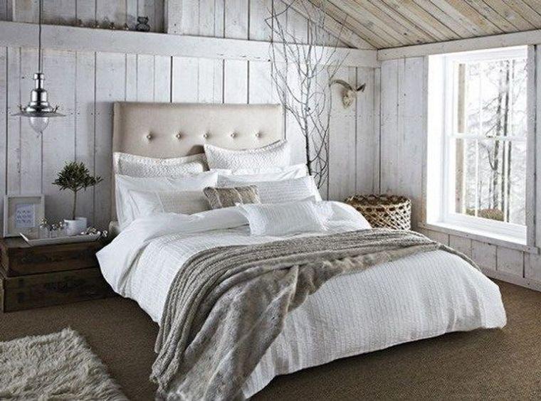 tendencias decoración dormitorios rusticos