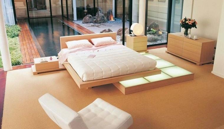 tendencias decoración dormitorios zen