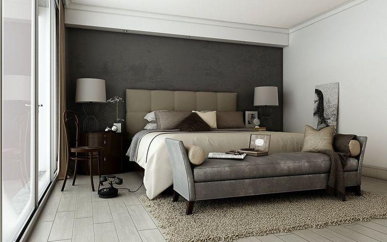 tendencias decoración elegantes dormitorios