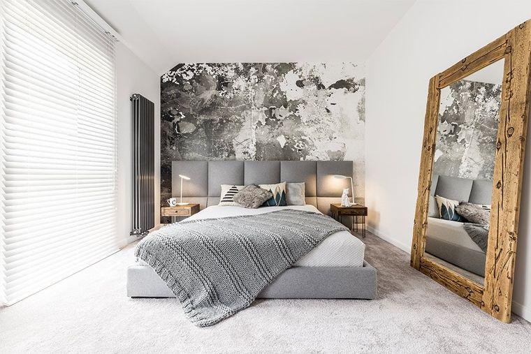 tendencias decoración minimalista dormitorio