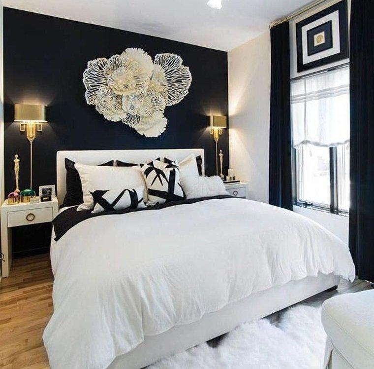 tendencias decoración pared decorada dormitorio