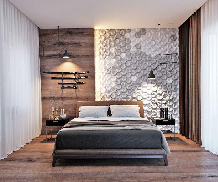 tendencias decoración pared madera