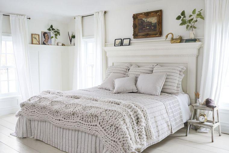 tendencias decoración texturas dormitorios