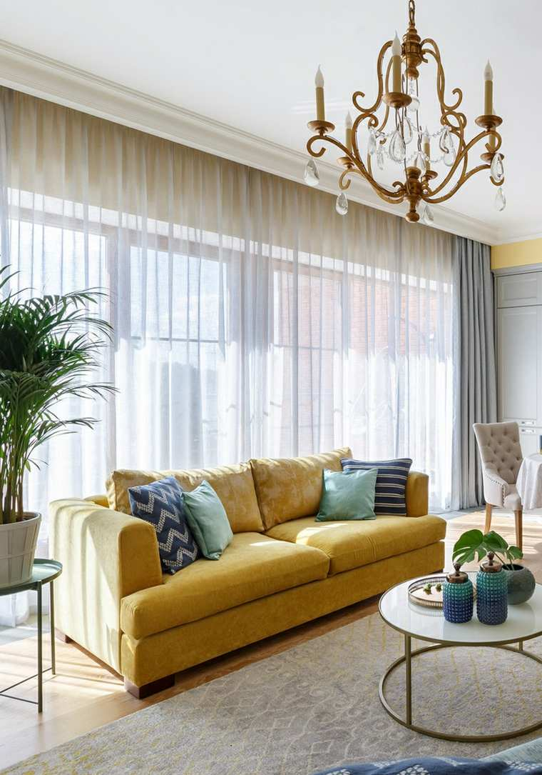 Colores que combinan con amarillo-ideas-sofa