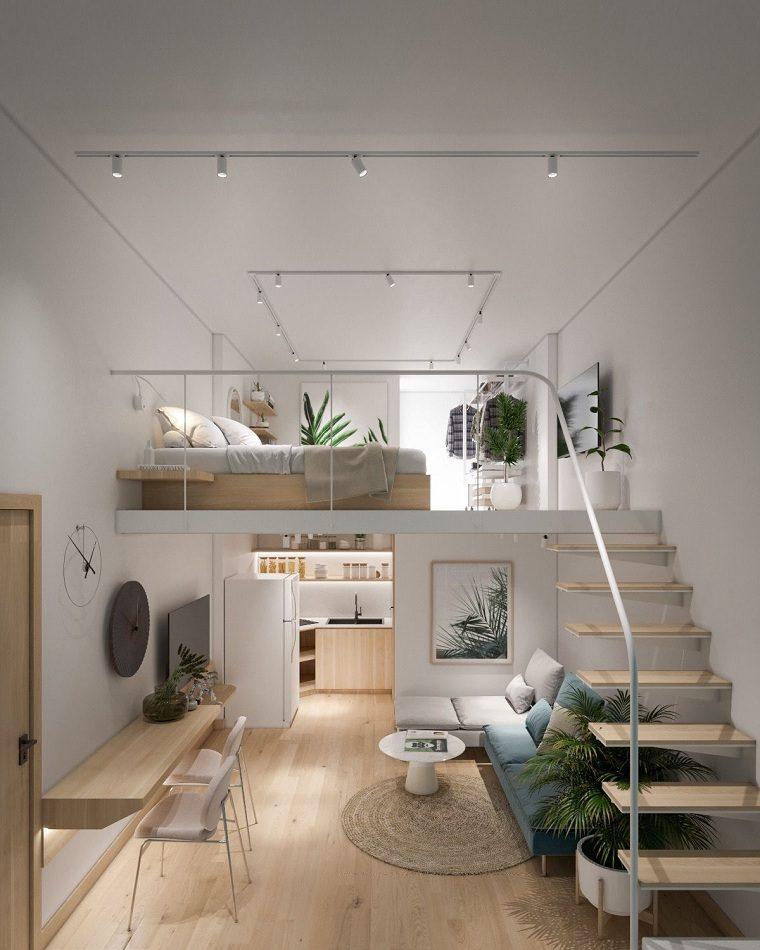 Decoracion-loft-pequeno-diseno-escandinavo