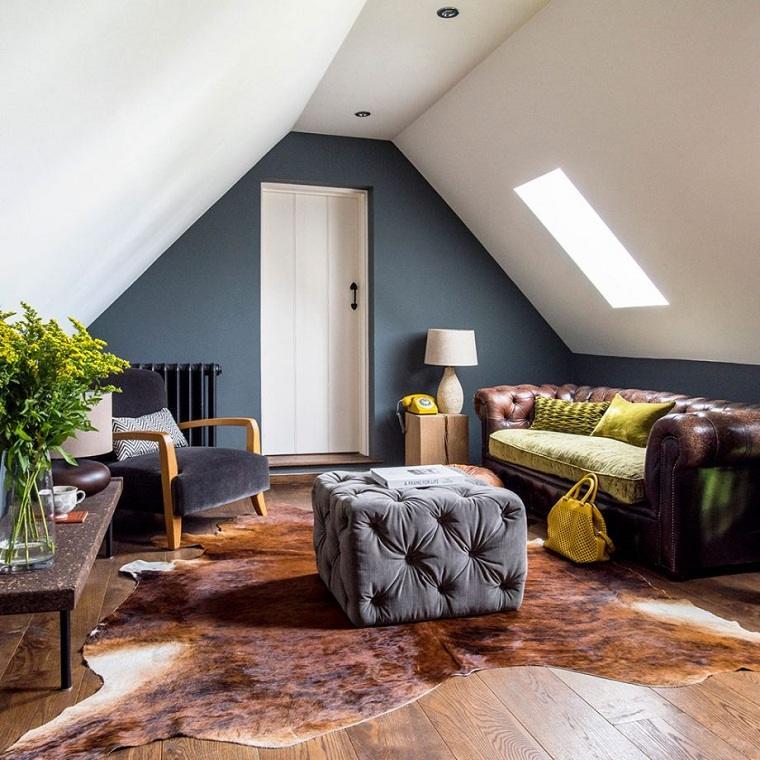 Decoración loft pequeño-sala-estar