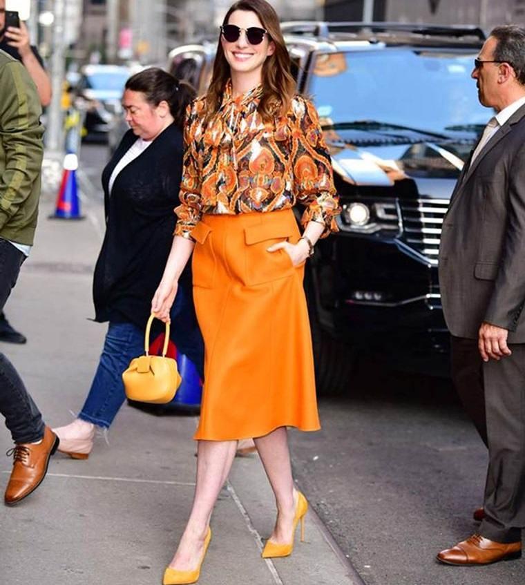 color naranja diversos tonos