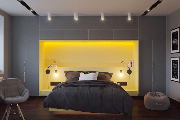 combinación de colores dormitorio