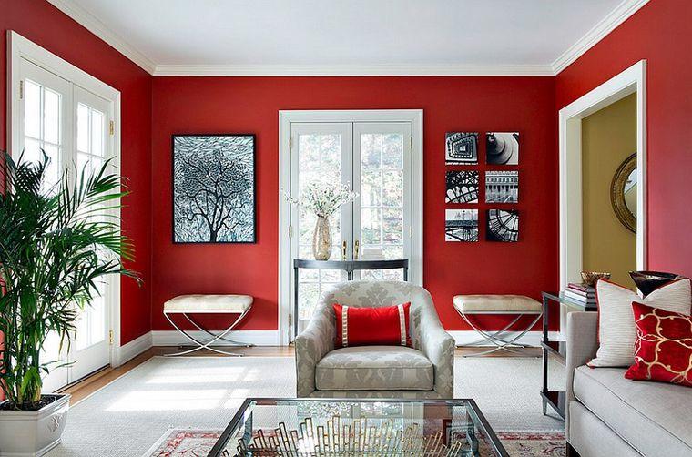 combinación de colores rojo blanco