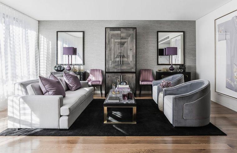combinación de colores tonalidades grises