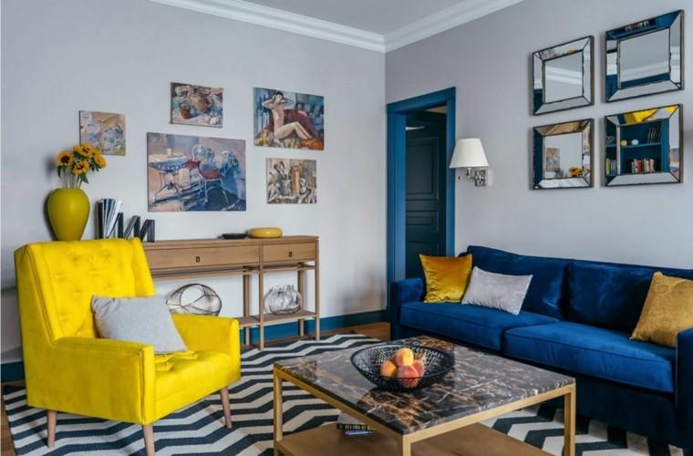 combinar-azul-amarillo-diseno-sala-estar