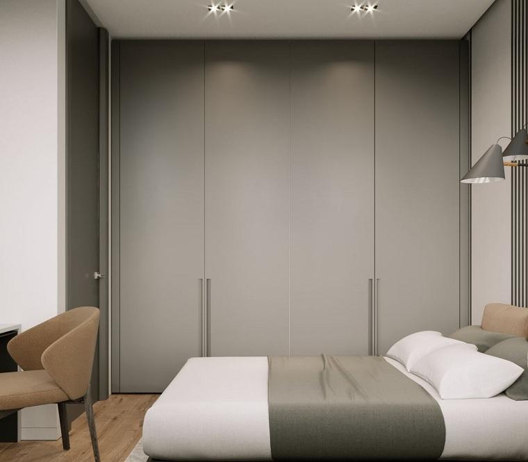 como-decorar-un-dormitorio-pequeno-armario-grande
