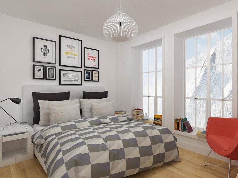 como-decorar-un-dormitorio-pequeno-decorar-pared