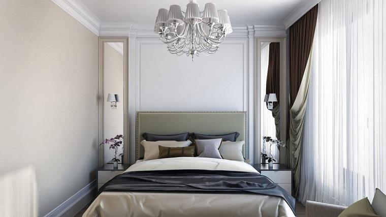 cómo decorar un dormitorio pequeño-estilo