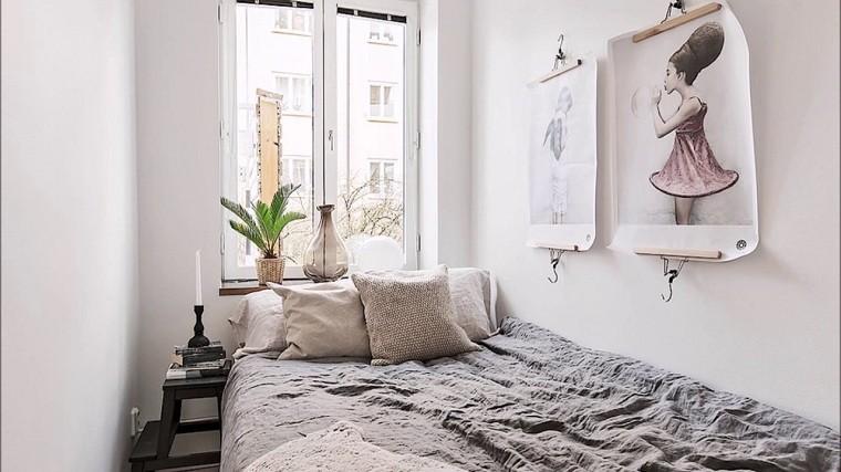 cómo decorar un dormitorio pequeño paleta-colores-blanco