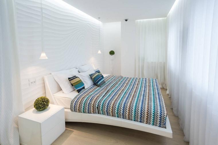 cómo decorar un dormitorio pequeño-paleta-colores-claros