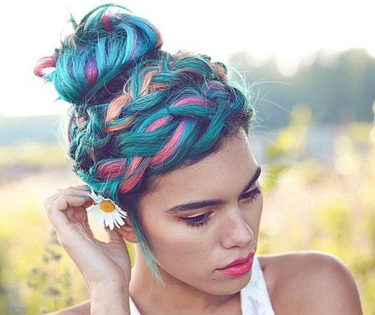 cuidado del cabello color