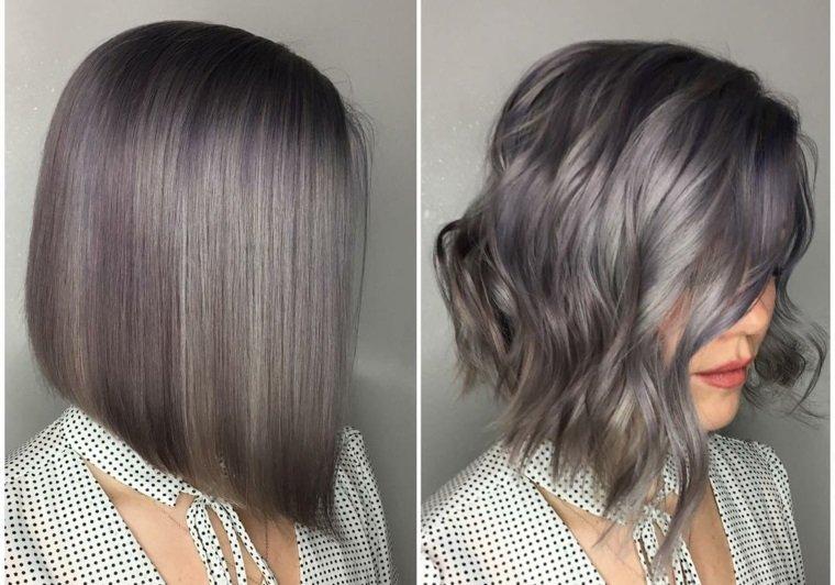cuidado del cabello corte color