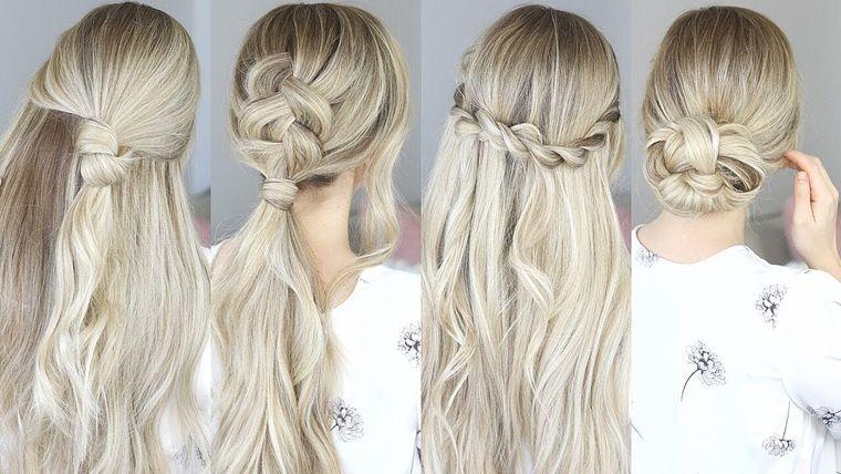 cuidado del cabello ideas peinados