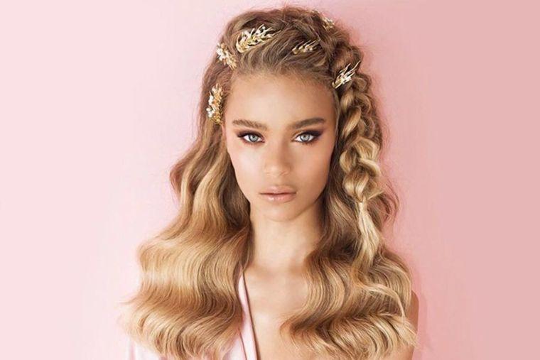 cuidado del cabello peinado adornos