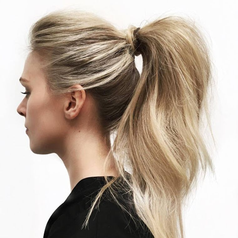 cuidado del cabello peinado clasico