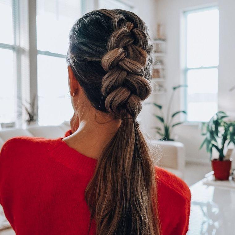 cuidado del cabello peinado