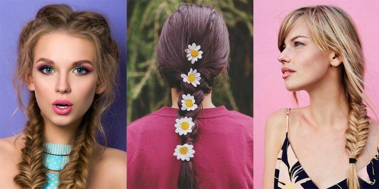 cuidado del cabello trenzas cabello largo