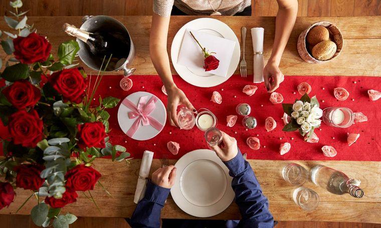 decoración romántica celebracion san valentin