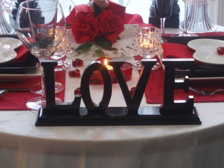 decoración romántica detalles