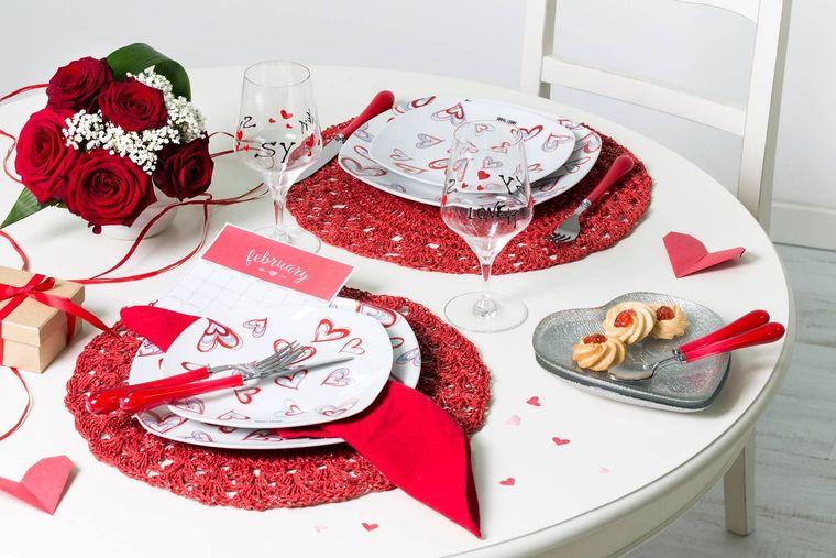 decoración romántica san valentin