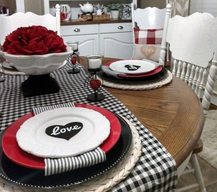 decoración romántica sencilla original