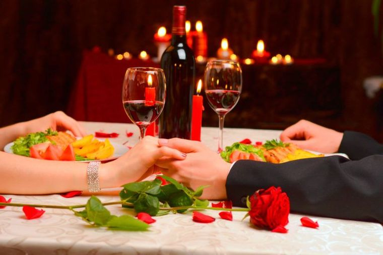 decoración romántica tiempo para pareja