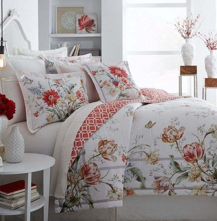 dormitorios acogedores en primavera